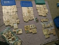 Great Deal! Rubber Stamp Lot of 180+ Tempe, 85282