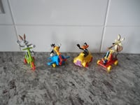 *Vintage* 1989 McDonalds Looney Tunes Toy Set (Complete) $10 PU Morinv Morinville
