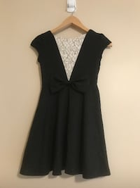 Black Dress - Girls size 10 Victoria
