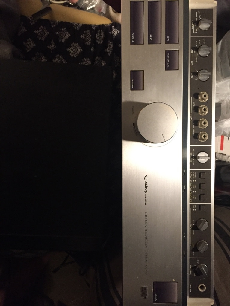 Photo Pioneer Stereo Receiver Home Stereo unit