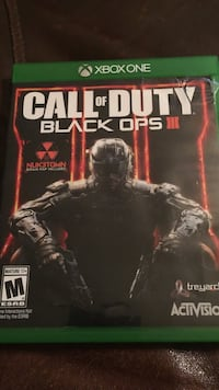 Call of duty black ops iii xbox one game (used)