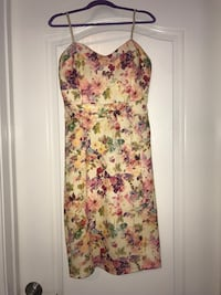 white, pink, and green floral sleeveless dress Myrtle Beach, 29577