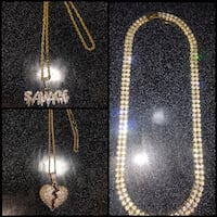 Iced out chain buncle Mississauga, L5W 1G4