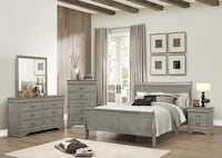 Quuen size bedroom set 4 piece