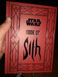 """NEWHARD COVER STAR WARS """"BOOK OF THE SITH"""""""