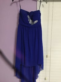 royal blue prom dress worn once size 5 Mobile, 36695