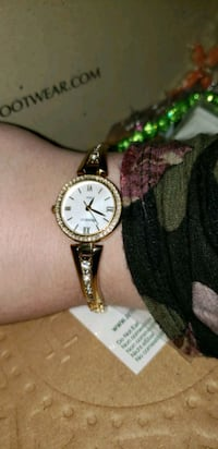 Brand New GOLD Watch OBO Ames, 50014