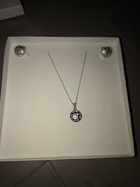 BRAND NEW Sterling silver jewelry set