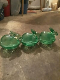 green ceramic bowl and plate set Virginia Beach, 23453