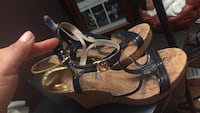 Michael Kors wedges, navy blue. Size may be 6 or 5 1/2. Great condition. Manassas Park, 20111