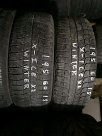 195/60R15 Michelin X-Ice Winter Pair of 2 Airdrie, T4B 1Y1