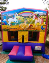 blue, red, and yellow inflatable play set Tustin, 92780