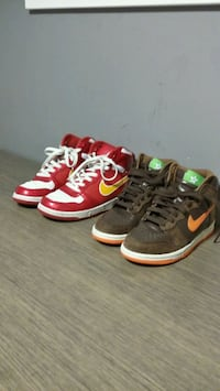 Nike both pairs $80 size 6y South San Francisco, 94080
