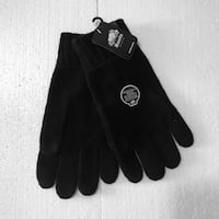Roots Men's Large Touch Screen Knit Gloves BNWT Toronto