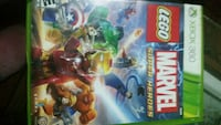 Xbox360 Legos Avengers game and Marvel game