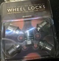 Toyota Genuine accessories pre-own SHORT ALLOY WHEEL LOCKS   [TL_HIDDEN]   VARIOUS TOYOTA MODELS GENUINE TOYOTA ACCESSORY Precisely machined, weight-balanced alloy wheel locks help secure your wheels and tires against theft Triple nickel chrome plating help Bristol, 19007