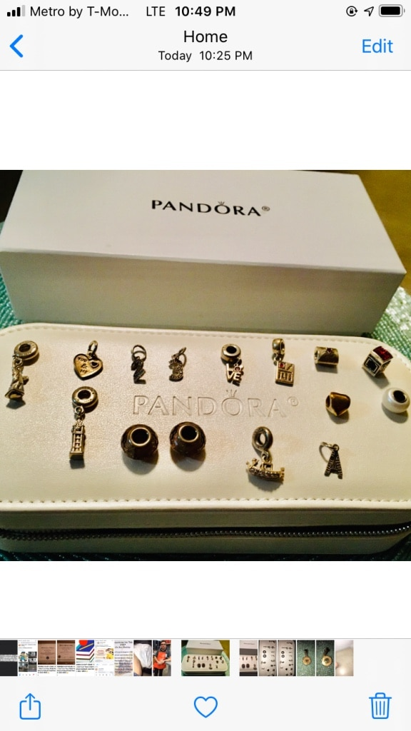 Photo Original Pandora Charms