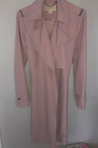 Micheal Kors pink trench coat