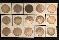 Morgan silver dollars-limited time Arlington, 22202