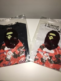Bape t shirts Asking 140 for each size small negotiable 100% authentic  Vancouver, V6J 2S1