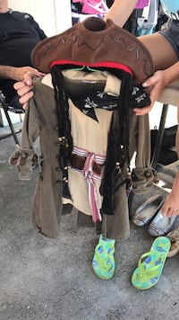 Pirate costume kids 4-6 years old Winter Haven