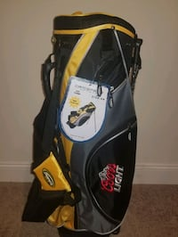 Coors lite carry golf bag never used still has tags