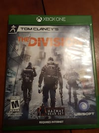 Xbox One Tom Clancy's The Division game case Canandaigua, 14424