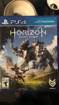 Horizon Zero Dawn PS4 game case Caledon, L7K
