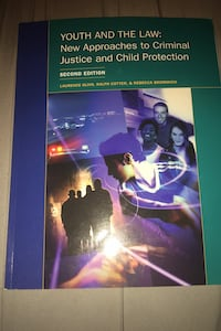 Youth And The Law New Approach To Criminal Justice & Child Protection