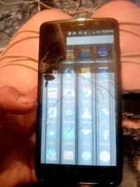 ZTE Max with a cracked screen but still functional Tulsa, 74127