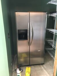 stainless steel side-by-side refrigerator with dispenser Minneapolis, 55111