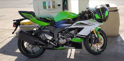 2015 Kawasaki Ninja ZX-6R 30th Edition