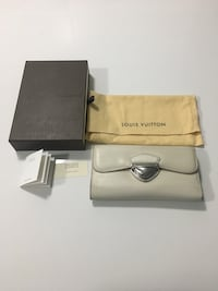 Authentic Louis Vuitton Eugenie Wallet in Ivory Epi Leather Vancouver, V5R