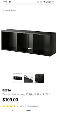 Tv unit with 2 doors on sides Forest Hills, 11375