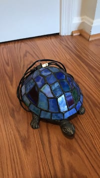 Mosaic glass turtle lamp  Falls Church, 22042