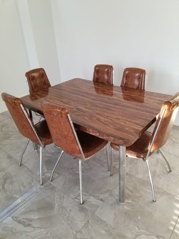 Selling table and sofa set with cushions for $300!