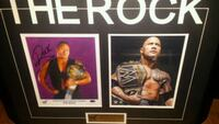 Wwe's The Rock signed & authenticated  Toronto, M1L 2T3