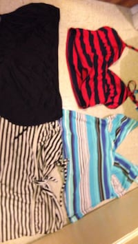 Three swimsuit tops and one bottoms  Tacoma, 98408