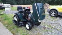 green and black Craftsman riding mower Spring Grove, 17362