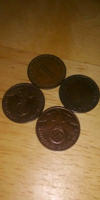 Late 1800's and early 1900's old German Nazi coins  Edgemere, 21219