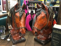 Pair of leather lamps new Missouri City, 77459