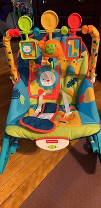 Fisher-price Infant-to-toddler Rocker, Dark Safari only used once or twice just looking for someone else to enjoy Southbridge, 01550