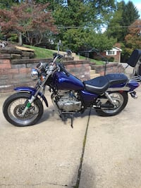 blue and black cruiser motorcycle Monroeville, 15146