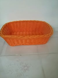 oval orange wicker basket Manassas, 20109