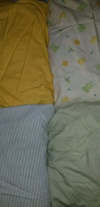 Fitted crib sheets set of 4 Tracy, 95376