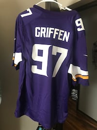 Everson Griffen Stiched Firld Jersey  Maple Grove, 55311