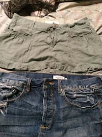 Abercrombie &Fitch skirts