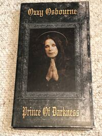 Ozzy Osbourne 4 CD box set  Edmonton, T5Z 3H7