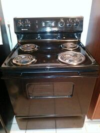 Black Electric Stove/Oven