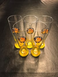 (5) Shocktop Beer Glasses Surrey, V3S 0L9